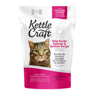 Kettle Craft Wild Pacific Salmon & Sardine 85g Cat Treats