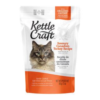 Kettle Craft Savoury Canadian Turkey 85g Cat Treats