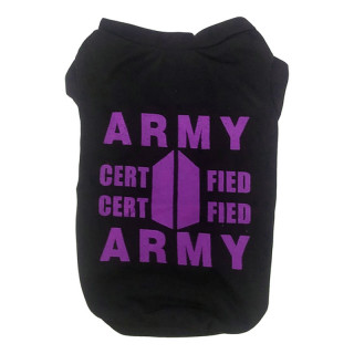 LIMITED EDITION Pawsh Couture K-Pup BTS Army Inspired Pet Tee