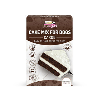 Puppy Cake Mix Wheat-Based Carob for Dogs