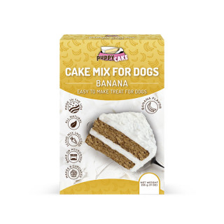 Puppy Cake Mix Wheat-Based Banana for Dogs