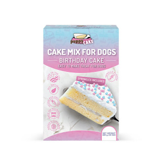 Puppy Cake Mix Wheat-Based Birthday Cake Mix for Dogs