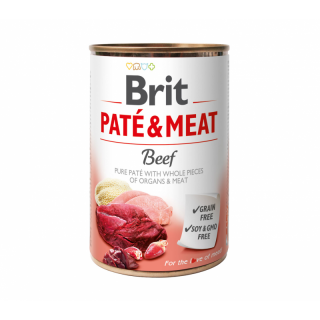Brit Pate & Meat for Puppy 400g Dog Wet Food