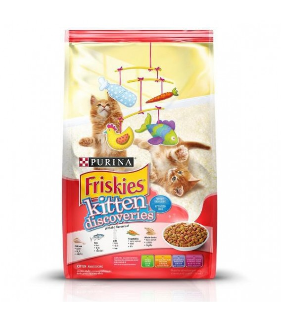 Purina Friskies Kitten Discoveries 1.1kg Cat Dry Food