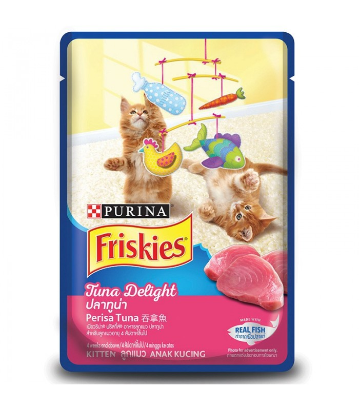 Purina Friskies Kitten Tuna Delight 80g Kitten Wet Food