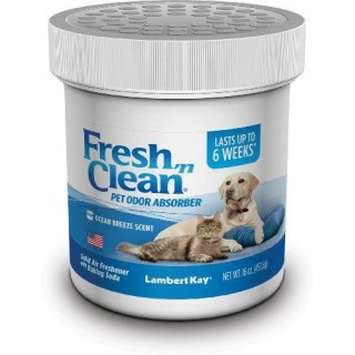 Lambert Kay Fresh 'N Clean Pet Odor Absorber 16oz Ocean Breeze Scent