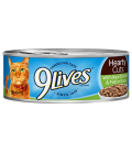 9 Lives Hearty Cuts with Real Chicken & Fish in Gravy 156g Cat Wet Food
