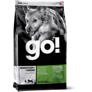 Go! Sensitivity + Shine Limited Ingredient Diet Turkey Recipe Grain Free Dog Dry Food