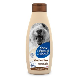 Oster Oatmeal Natural Shed Control 532ml Dog Shampoo