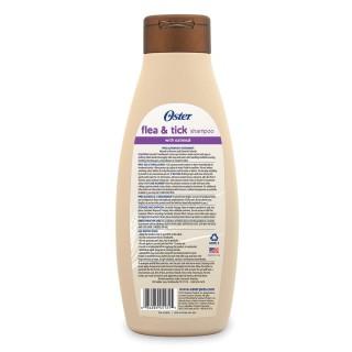 Oster Oatmeal Naturals Flea & Tick Mandarin Shampoo 532ml Dog Shampoo
