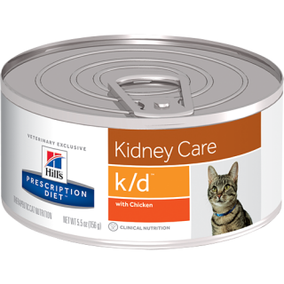 Hill's Prescription Diet Feline Kidney Care k/d with Chicken 156g Cat Wet Food