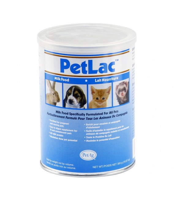PetAg Petlac Milk Powder for All Species 300g