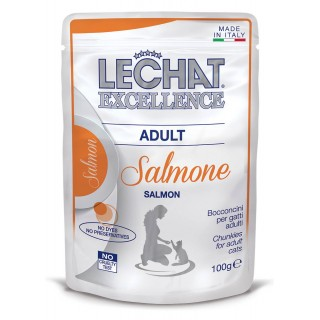Le Chat Excellence Chunkies with Salmon 100g Adult Cat Wet Food