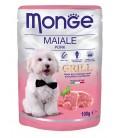 Monge Grill Chunkies with Pork 100g Dog Wet Food