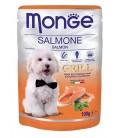 Monge Grill Chunkies with Salmon 100g Dog Wet Food