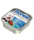 Monge Fresh Pate & Chunkies with Duck 100g Dog Wet Food