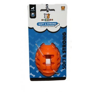 Michiko Soft & Strong Large Football Dog Toy