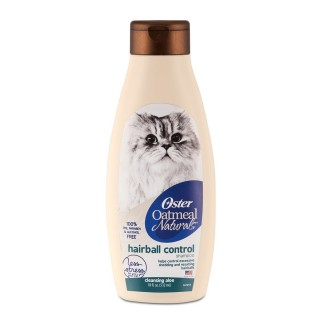 Oster Oatmeal Naturals Hairball Control 532ml Cat Shampoo