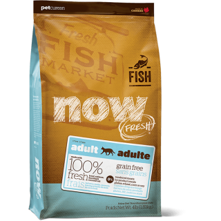 Now Fresh Adult Cat Trout, Salmon & Herring Grain-Free Cat Dry Food