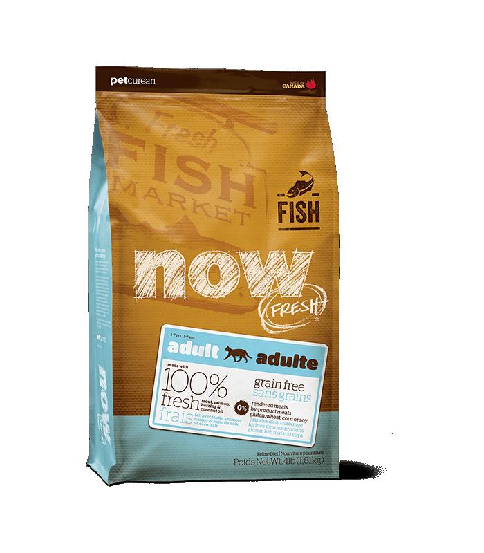 Now Fresh Adult Cat Trout Salmon Amp Herring Grain Free Cat
