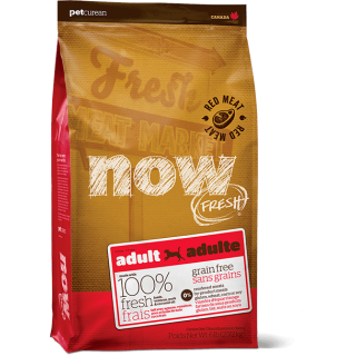 Now Fresh Grain-Free Red Meat Recipe Lamb, Venison & Pork Adult Dog Dry Food
