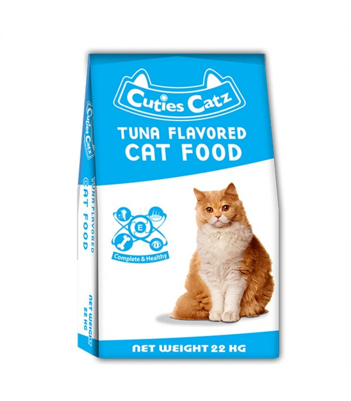 Cuties Catz Tuna Flavor 22kg Cat Dry Food Pet Warehouse