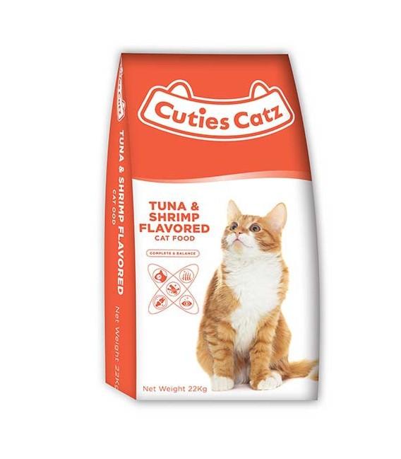 Cuties Catz Tuna & Shrimp Flavor 22kg Cat Dry Food