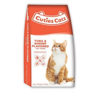 Cuties Catz Tuna & Shrimp Flavor 22kg Cat Dry Food