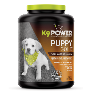 K9 Power Puppy Gold Puppy & Mother Formula 4lb (1814g) Dog Supplement