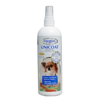 Gold Medal Pets Unicoat 473ml Grooming Spray