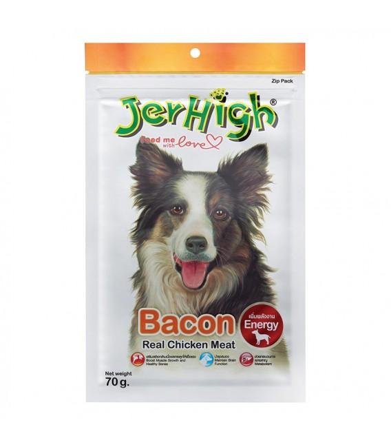 Jerhigh Treats Snack Bacon 70g Dry Dog Treat