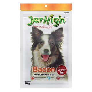Jerhigh Treats Snack Bacon 70g Dry Dog Treat