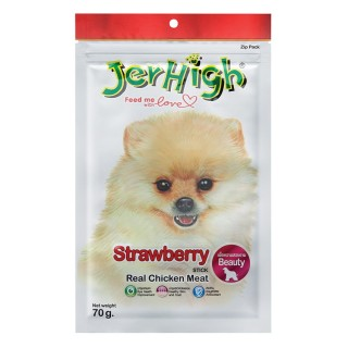 Jerhigh Treats Strawberry 70g Dry Dog Treat