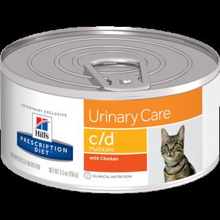 Hill's Prescription Diet Feline Urinary Care c/d Multicare 156g Cat Wet Food