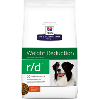 Hill's Prescription Diet Canine Weight Reduction r/d Chicken Flavor 3.85kg Dog Dry Food