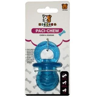 Michiko Medium Paci Chew & Squeak Dog Toy