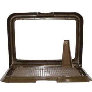 Puppy & Dog Training Tray - Brown