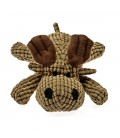 Patchwork Pet Waffle Wags Moose 14 inch Pet Toy