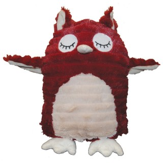 Patchwork Pet Feathered Friends Hoot the Owl 13'' Dog Toy