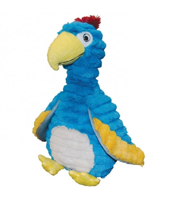 Patchwork Pet Feathered Friends Dodo the Bird 15'' Dog Toy