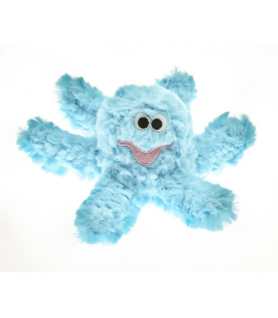 Patchwork Pet Pastel Octopus 8 inch Pet Toy