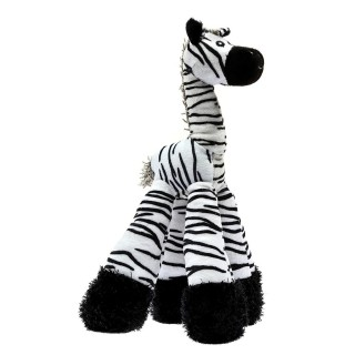 Patchwork Pet Long Legs Zebra 12 inch Pet Toy