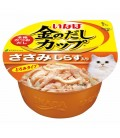 Inaba Chicken Fillet in Gravy Topping Shirasu 70g Cat Wet Food