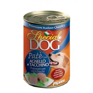 Special Dog Pate with Lamb & Turkey 400g Dog Wet Food