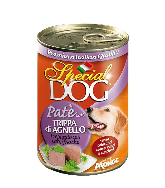 Special Dog Pate with Lamb & Tripe 400g Dog Wet Food