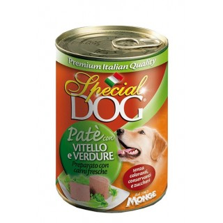 Special Dog Pate with Veal & Vegetable 400g Dog Wet Food