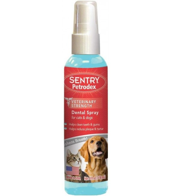 Sentry Petrodex Advanced Dental Care 118ml Dental Spray for Cats