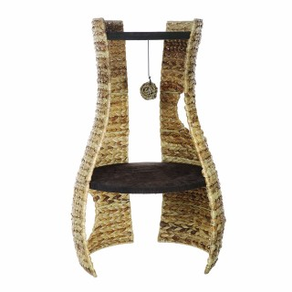 Catit Banana Leaf 2-Shelf Hangout Cat Furniture
