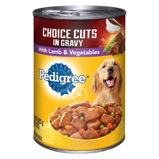 Pedigree Choice Cuts in Gravy with Lamb & Vegetables 375g Dog Wet Food