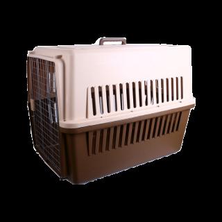 Pet Travel Crate Carrier 90.7cm L x 63.55cm W x 68.6cm H